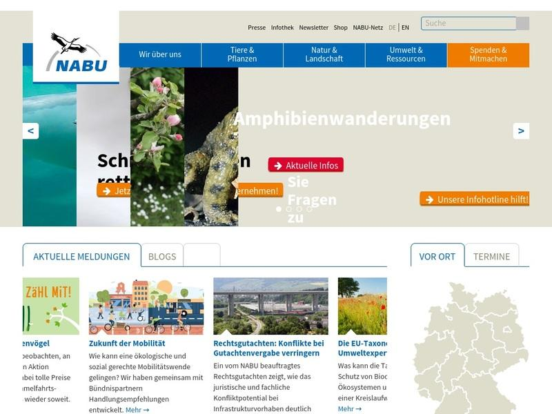 Screenshot von http://nabu.de